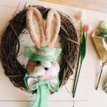 Easter Bunny Wreath Kit